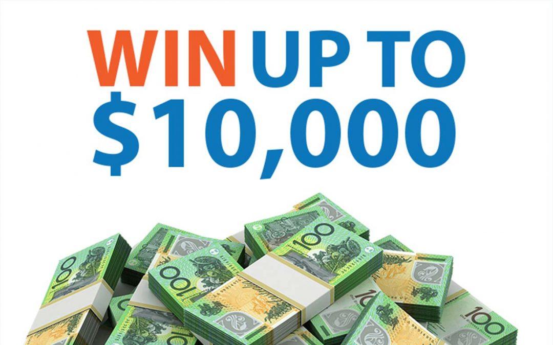 10k Cash Giveaway!